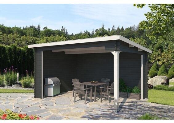 Outdoor Life Products | Tuinhuis Ragnar Gecoat | Carbon Grey