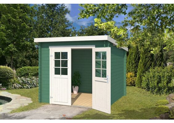 Outdoor Life Products | Tuinhuis Indi 230 Gecoat | Jungle Green
