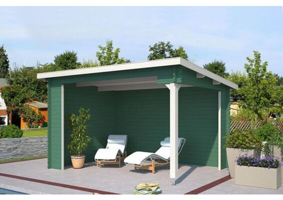 Outdoor Life Products | Tuinhuis Lara Gecoat | Jungle Green