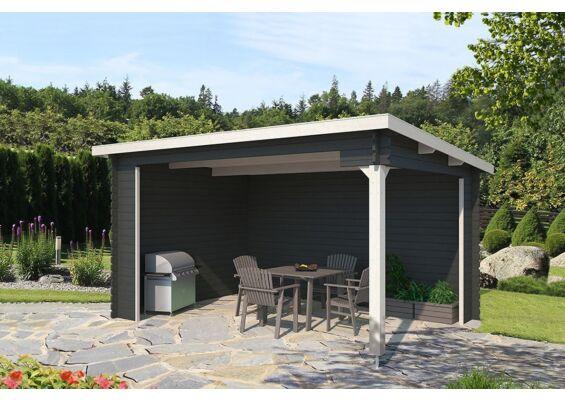 Outdoor Life Products | Tuinhuis Ragnar Gecoat | Carbon Grey