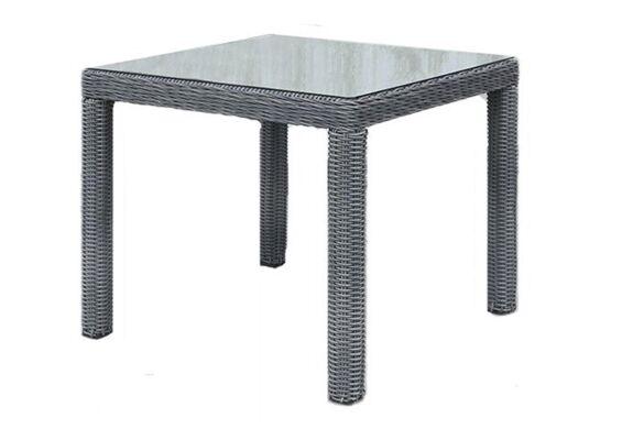 Fonteyn | Tuintafel Chesley 90 x 90 cm | Charcoal