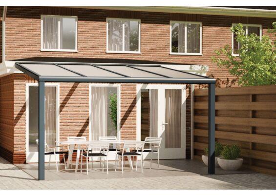 Fonteyn | Veranda Comfortline 406 x 300 cm RAL7016 Grijs