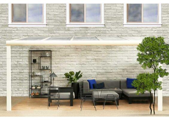 Fonteyn Comfortline met glas 606x400 RAL9010