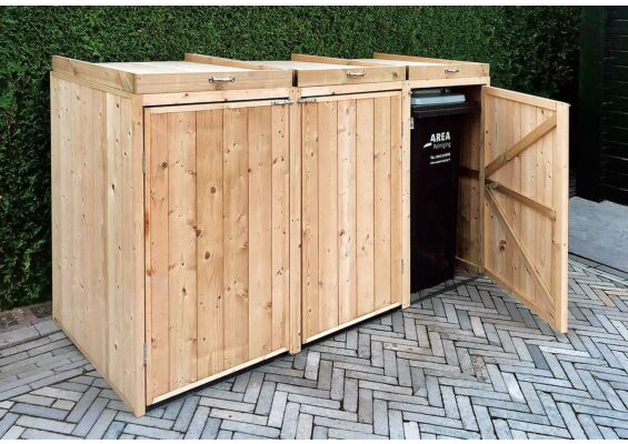 Tuindeco | Containerberging Triple | Hogedruk Geïmpregneerd