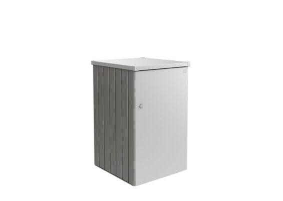Biohort | ContainerBox Alex Variant 2.1 | Zijwanden Kwartsgrijs-Metallic en Dak Zilver-Metallic