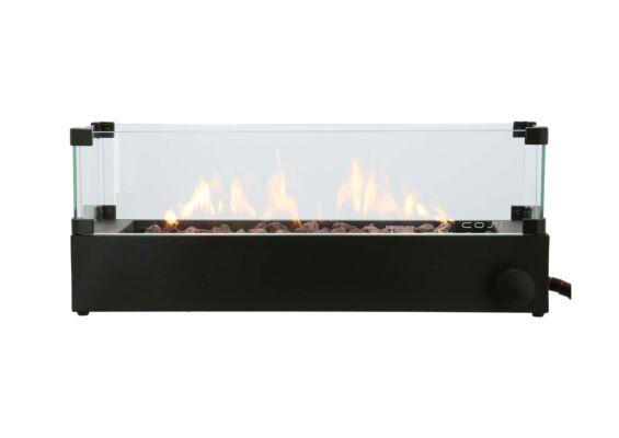 Cosi | Cosiburner Build Up Opbouwbrander | Zwart | Incl. Glas