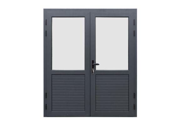 Fonteyn | Aluminium Deur Dubbel | 1/2 Glas