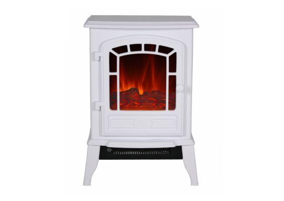 El Fuego | Elektrische Veranda Haard Como |  Wit