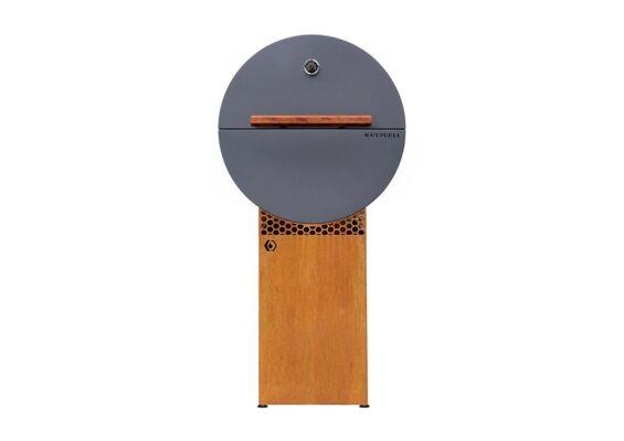 HNYGRLL | Houtskool BBQ Design | Corten/Zwart