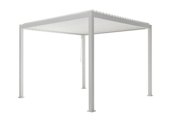 Fonteyn | Lamellen Overkapping Milano | 300 x 400 x 250 cm | Wit