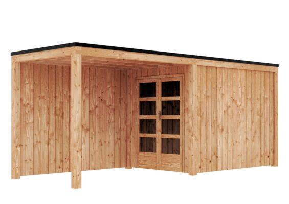 Duxwood | Tuinhuis Garden Design 120 | 200 x 300 cm met Luifel 300 cm | Douglas