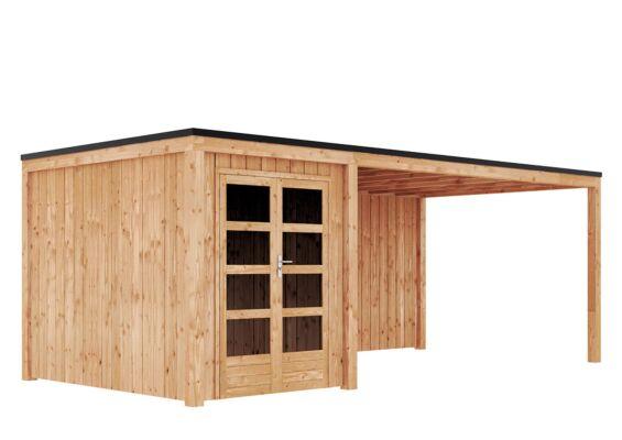 Duxwood | Tuinhuis Garden Design 120 | 200 x 300 cm met Luifel 450 cm | Douglas