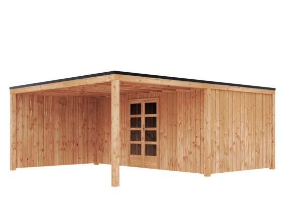 Duxwood | Tuinhuis Garden Design 120 | 500 x 300 cm met Luifel 300 cm | Douglas