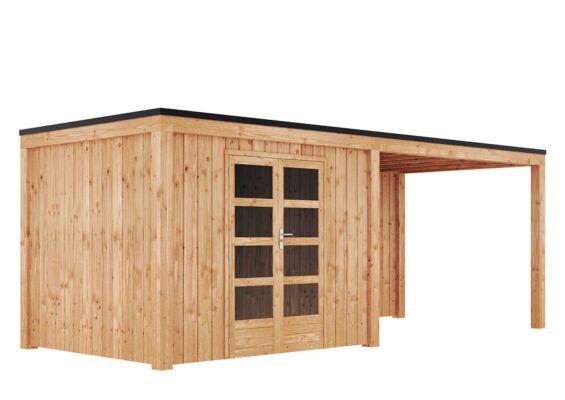 Duxwood | Tuinhuis Garden Design 120 | 300 x 250 cm met Luifel 350 cm | Douglas