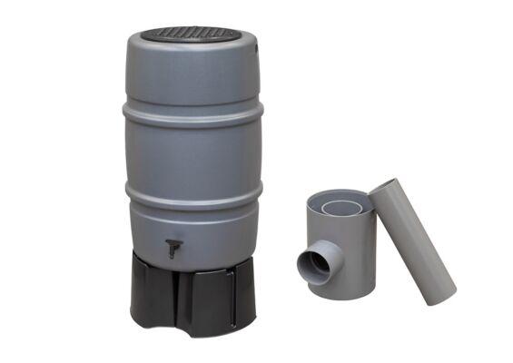 Harcostar | Regenton 227 liter Compleet | Grijs
