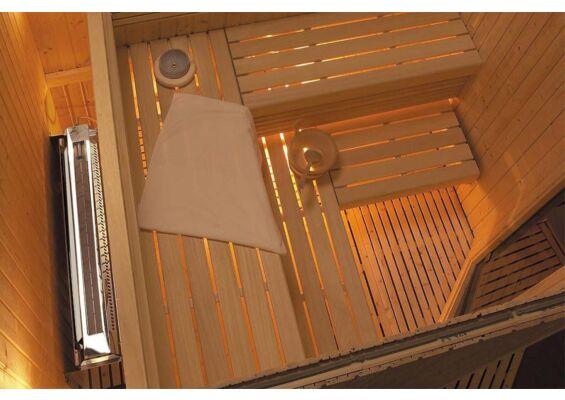 Harvia | Waterbakje Hidden Heater met flexibele slang Ø 14,5 cm