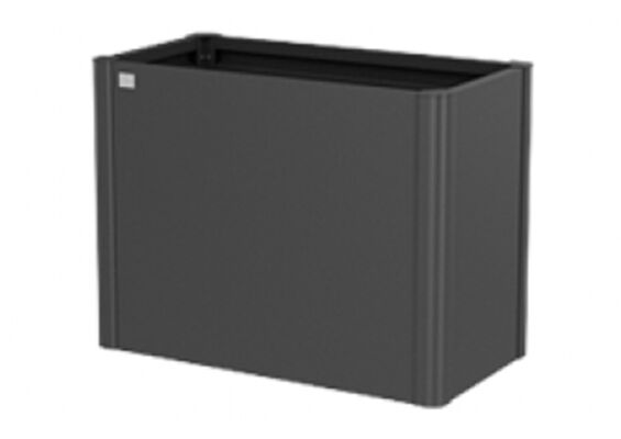 Biohort | Moestuinbox Gr. 1 x 0,5 | Donkergrijs-Metallic