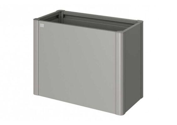 Biohort   Moestuinbox Gr. 1 x 0,5   Kwartsgrijs-Metallic