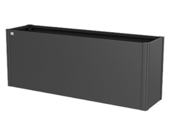 Biohort   Moestuinbox Gr. 2 x 0,5   Donkergrijs-Metallic
