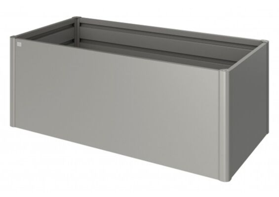 Biohort   Moestuinbox Gr. 2 x 1   Kwartsgrijs-Metallic