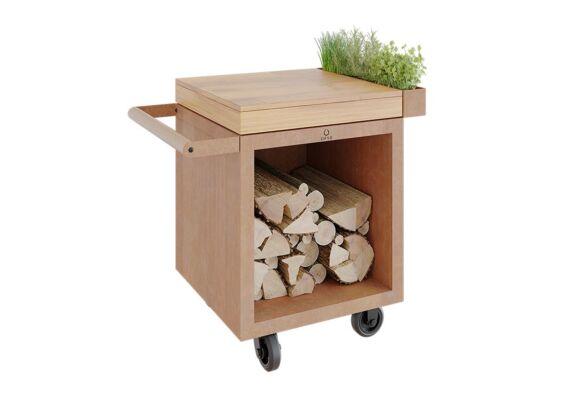 OFYR | Mise en Place Table 65 PRO | Corten - Teak Wood