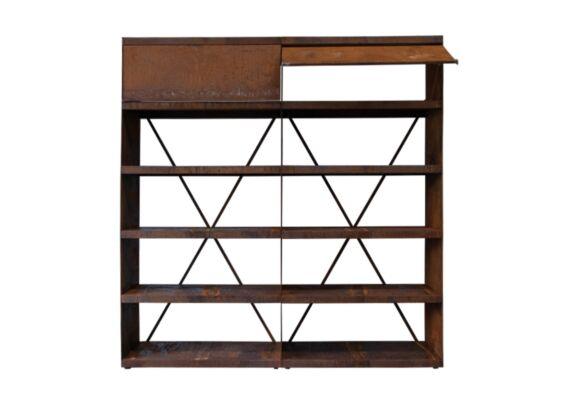 OFYR | Wood Storage 200 | Corten