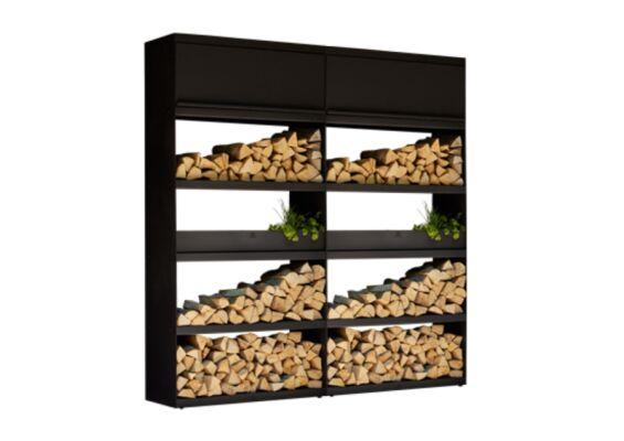 OFYR   Wood Storage 200   Black