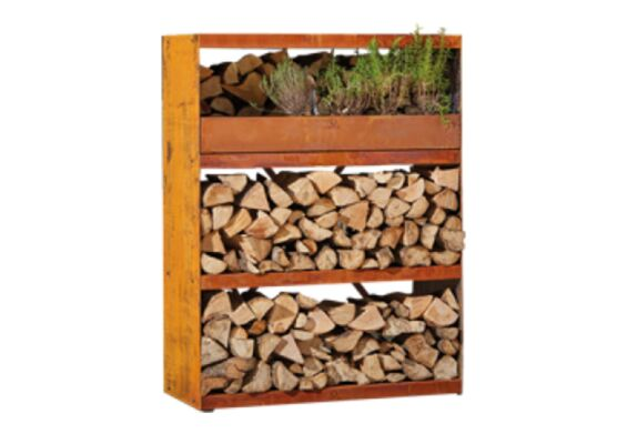 OFYR | Wood Storage Cabinet | Corten