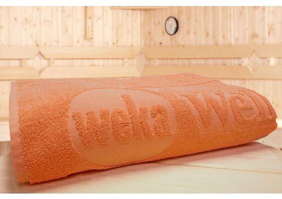 Weka | Sauna Handdoek 3 | Mandarijn
