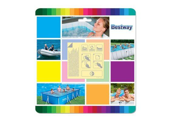 Bestway | Plaksetje Onderwater Reparatie 6,5 x 6,5 cm