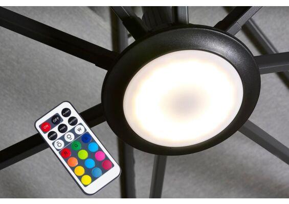 Platinum   Parasolverlichting LED Multicolour