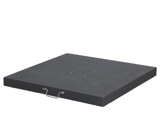 Platinum | Parasolvoet Arezzo Graniet | 90 kg