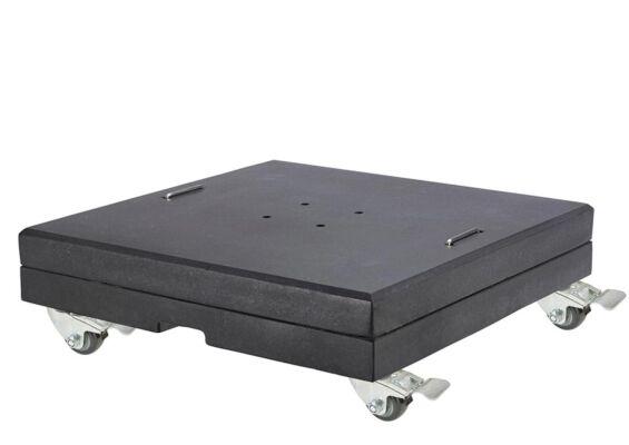 Platinum | Parasolvoet Modena XL Graniet met Wielen | 150 kg