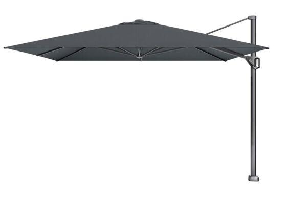 Platinum | Zweefparasol Challenger T¹ Premium 350 x 350 cm | Faded Black