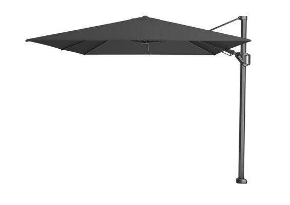 Platinum | Zweefparasol Challenger T² Premium 350 x 260 cm | Faded Black