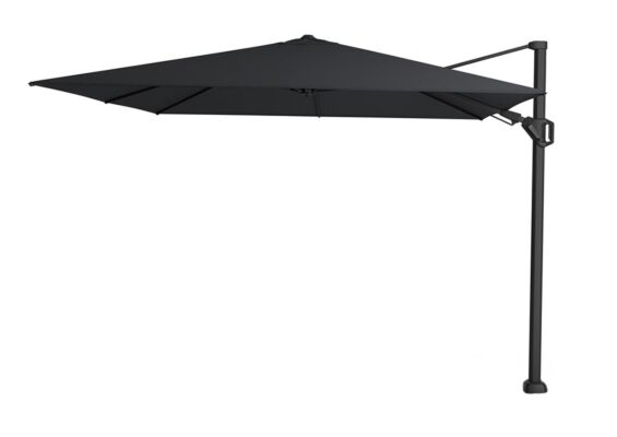 Platinum | Zweefparasol Challenger T² Premium 300 x 300 cm | Jet Black