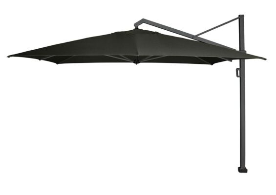 Platinum | Zweefparasol Icon Premium 350 x 350 cm | Faded Black