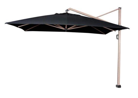 Platinum | Zweefparasol Icon Premium 400 x 300 cm | Faded Black