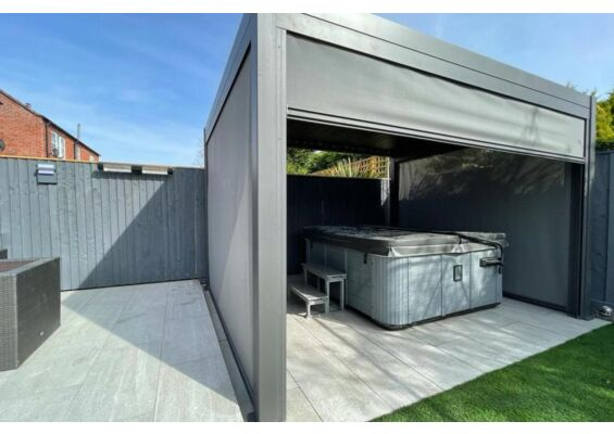 Fonteyn | Gordijn Rota 360 cm | Matt Royal Grey