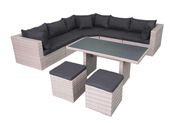 Fonteyn | Lounge-/Dining set Salou | Light Grey