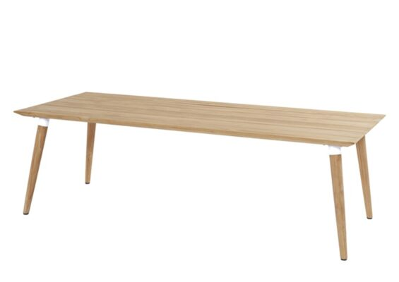 Hartman | Tuintafel Sophie Studio Teak 240 x 100 cm | Royal White