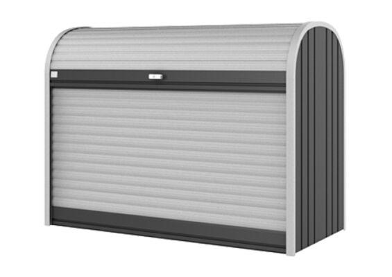 Biohort | Opbergbox StoreMax 160 | Donkergrijs-Metallic