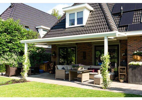 Aluxe Topline veranda met platen 3000x3000