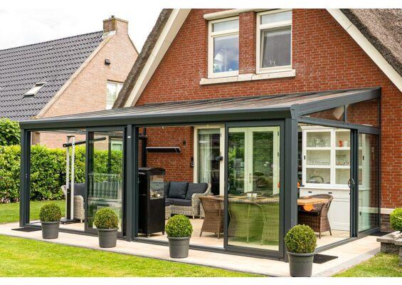 Aluxe Topline veranda met platen 6000x4000