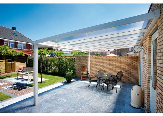 Aluxe Trendline veranda met platen 3000x3500