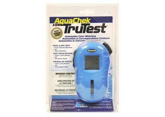 TruTest Digital Test Strip Reader - Free Chlorine/Bromine, pH, Total Alkalinity, Blue