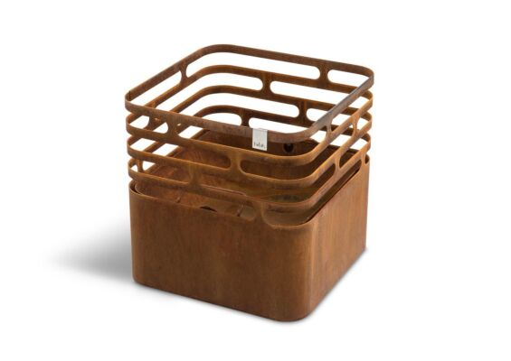 Hofats | Cube Vuurkorf | Bruin