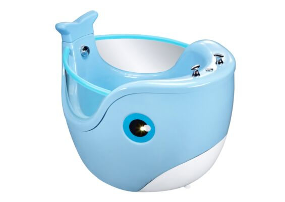 Baby Spa Whale Blauw