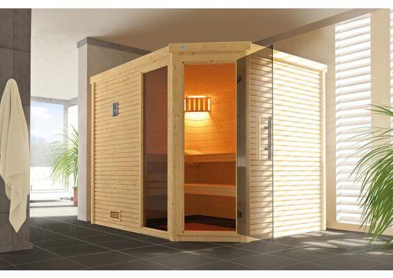 Weka   Sauna Cubilis Hoek Gr. 3