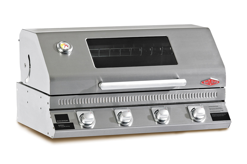 Beefeater | Inbouw BBQ | Discovery 1100S 4 Brander | RVS